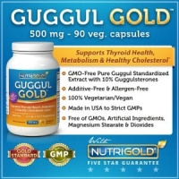 GUGGUL GOLD - 500 mg-90 cap