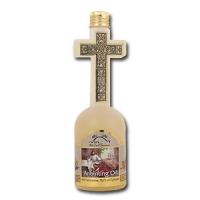 Huile D'onction dans une bouteille en croix 120ml