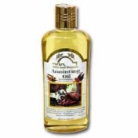Huile d'onction parfumé à la myrrhe, à l'encens et au spikenard