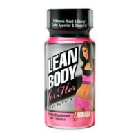 LEAN BODY POUR ELLE  FAT BURNER 60 CAPS
