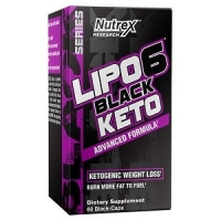 LIPO 6 BLACK KETO 60 CAPS