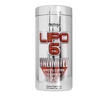 LIPO 6 UNLIMITED ( NOUVEAU ) 120 CAPS