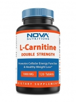 L-CARNITINE 1000MG, 120 TABLETTES