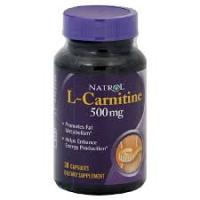 L-CARNITINE - 30 CAPS 500 MG