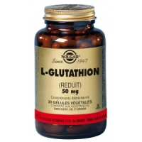 L-GLUTATHION 50MG 30 GELULES VEGETALES