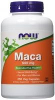 MACA NOW FOODS 250 CAPS   500 MG