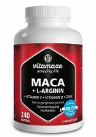 MACA PLUS L ARGININE 240 CAPS