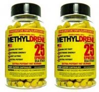 METHYLDRENE25 ECA STACK 100 CAPS X 2 FLACONS