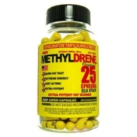METHYLDRENE 100 CAPS - 25 MG -