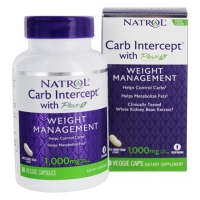 NATROL CARB INTERCEPT 1000 MG 60 GELULES