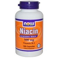 NIACINE 180 CAPS / 500 MG / NO FLUSH