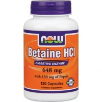 NOW BETAINE HCI  120 CAPS