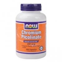 Chromium Picolinate 200mcg, 250 caps