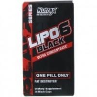 NUTREX RESEARCH LIPO-6 NOIR ULTRA CONCENTRE 30 CAPSULES NOIRES