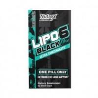 NUTREX RESEARCH LIPO-6 BLACK HER MINCEUR FEMMES 60 CAPSULES