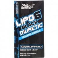 NUTREX RESEARCH LIPO-6 DIURETIQUE NOIR 80 CAPSULES NOIRES