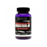 Omega 3 Ultimate Nutrition , 90 Caps