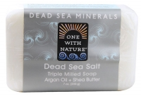 One With Nature Dead Sea Minerals Soap Dead Sea Salt