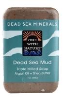 One With Nature Dead Sea Minerals Soap Dead Sea Mud