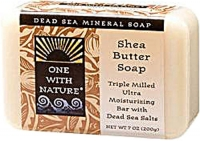 One With Nature Dead Sea Mineral Soap Shea Butter 7 oz