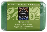 One With Nature Dead Sea Mineral Soap Olive Oil  7 oz