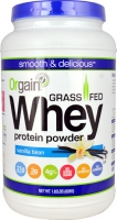 Orgain Grass Fed Whey Protein Powder Vanilla 1.82 lbs