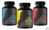 Pack Masse ,Seche et  Puissance 3 produits Fightlabs
