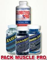 PACK PRO ULTIMATE PRO MUSCLE 4 PRODUITS : ANAVAR-SUSTANON-DIANABOL ET CLENBUTEROL