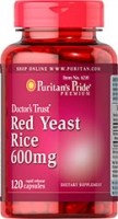 RED YEAST 600 MG ( LEVURE DE RIZ  ROUGE) 2 PACKS + 1 GRATUIT = 360 CAPS