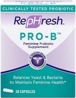 REPHRESH PRO-B PROBIOTIC 30 CAPS