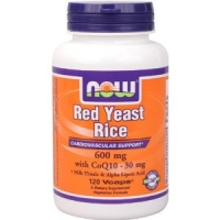 Red yeast rice 600 mg (Levure de Riz Rouge) 60 gelules vegetales