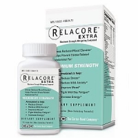 Relacore Maximum Strength Stress Reducer/Mood Elevator Caplets, 72 Caps