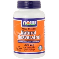 RESVERATROL 200 MG  120 CAPS