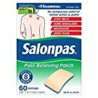 SALONPAS 60 PATCHS DE DOULEUR