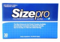 SIZEPRO SIZE PRO ULTRA MALE ERECTION 30 CT