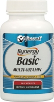 SYNERGY BASIC MULTIVITAMINES-60 CAPSULES
