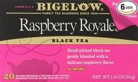 Sachet de thé noir 20 unités (Paquet de 6)