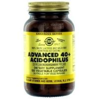 Solgar - Advanced 40+ Acidophilus, 1.5 bil, 120 veggie caps