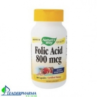 Vitamine B9 Acide folique 800 mcg