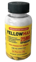 YELLOW MAX 25 EPHEDRA 90 CAPS