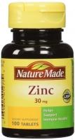 ZINC 30 MG 100 CAPS