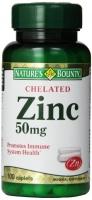 ZINC CHELATED 50 MG  100 CAPS