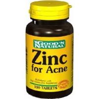 Zinc pour Acne - 100 tabs,(Good'n Natural)