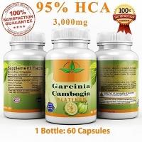 3000 MG GARCINIA CAMBOGIA 95% HCA  60 CAPS