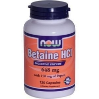 BETAINE HCL 120 caps