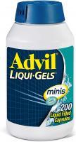 ADVIL LIQUIGELS MINIS IBUPROFEN 200MG 200 CAPS