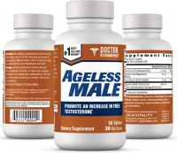 AGELESS MALE FREE TESTOSTERONE BOOSTER 60 COMPRIMES