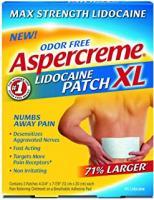 ASPERCREAM LIDOCAINE PATCH XL  3 COUNTS