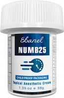 EBANEL 5 LIDOCAINE EMOUSSEMENT CREAM MAXIMUM FORCE 40 ML