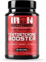 IRON BROTHERS SUPPLEMENTS TESTOSTERONE BOOSTER 90 CAPSULES